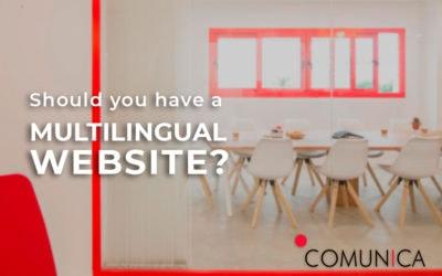 Should you have a multilingual website?